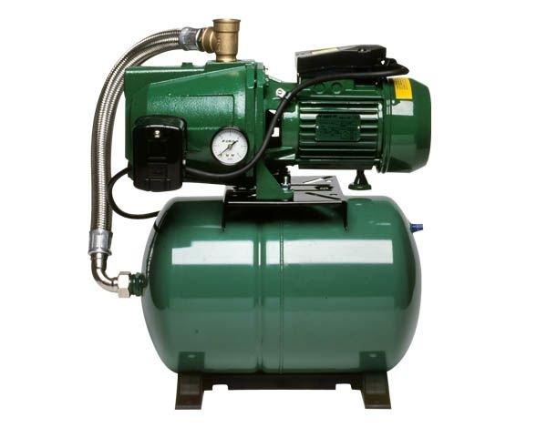 Bevattningspump med tank